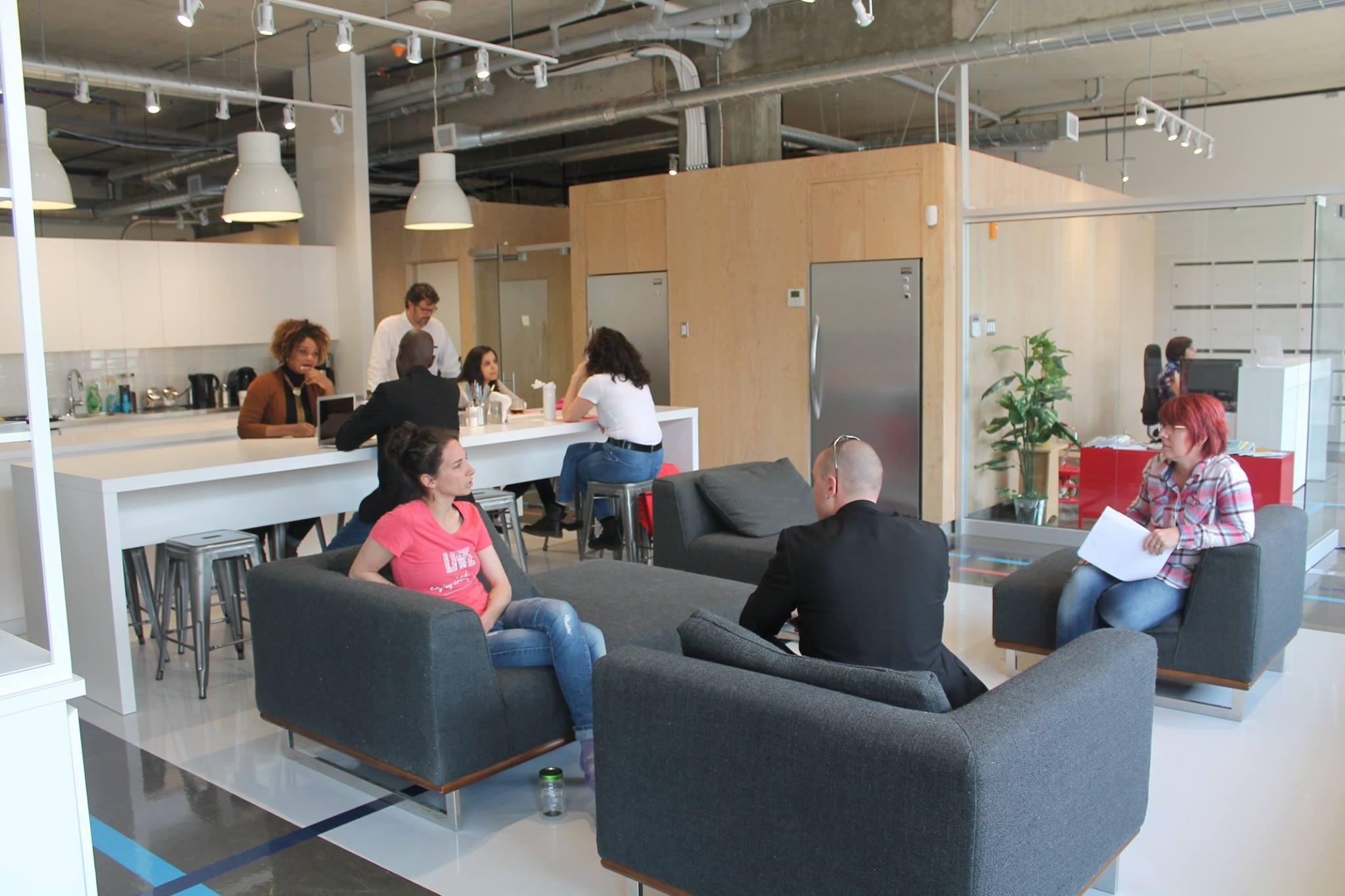 La station québec bureaux et espaces de co working fonds d
